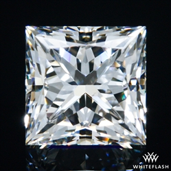 0.682 ct F VS2 A CUT ABOVE® Princess Super Ideal Cut Diamond