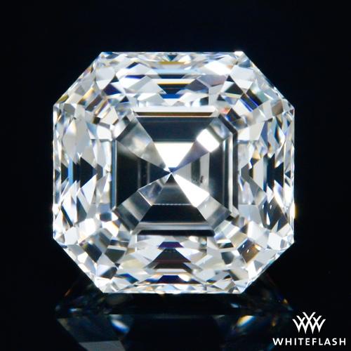 0.78 ct H VS2 Premium Select Asscher Cut Loose Diamond