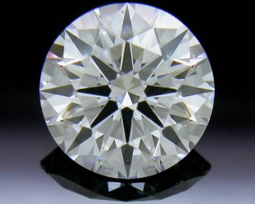 0.91 ct E SI1 A CUT ABOVE® Hearts and Arrows Super Ideal Round Cut Loose Diamond
