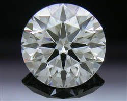 0.907 ct E VS1 A CUT ABOVE® Hearts and Arrows Super Ideal Round Cut Loose Diamond