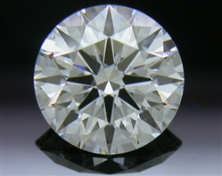 0.906 ct G VS2 A CUT ABOVE® Hearts and Arrows Super Ideal Round Cut Loose Diamond