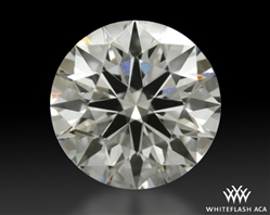 1.04 ct H VVS2 A CUT ABOVE® Hearts and Arrows Super Ideal Round Cut Loose Diamond