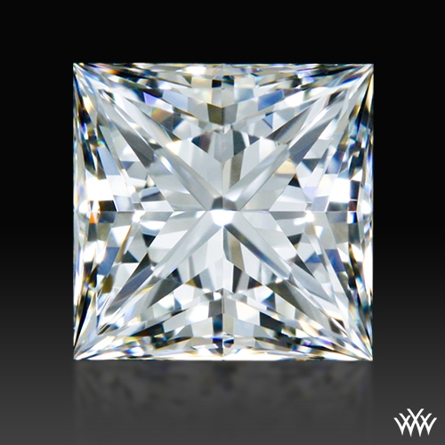 0.646 ct H VVS1 A CUT ABOVE® Princess Super Ideal Cut Diamond