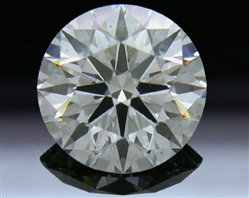 1.738 ct G SI1 A CUT ABOVE® Hearts and Arrows Super Ideal Round Cut Loose Diamond