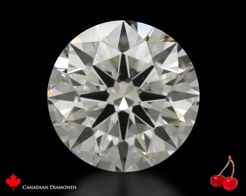1.308 ct H VVS1 Expert Selection Round Cut Loose Diamond