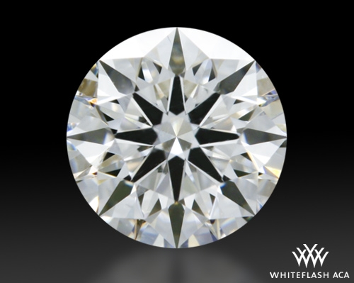 0.524 ct F VVS1 A CUT ABOVE® Hearts and Arrows Super Ideal Round Cut Loose Diamond