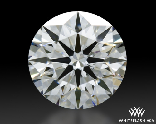 0.57 ct F VVS1 A CUT ABOVE® Hearts and Arrows Super Ideal Round Cut Loose Diamond