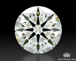1.064 ct J VS2 A CUT ABOVE® Hearts and Arrows Super Ideal Round Cut Loose Diamond