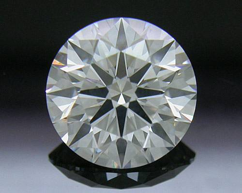 1.064 ct F SI1 A CUT ABOVE® Hearts and Arrows Super Ideal Round Cut Loose Diamond