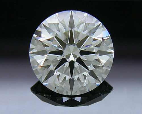 1.133 ct G SI1 A CUT ABOVE® Hearts and Arrows Super Ideal Round Cut Loose Diamond