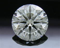 1.255 ct G SI2 A CUT ABOVE® Hearts and Arrows Super Ideal Round Cut Loose Diamond