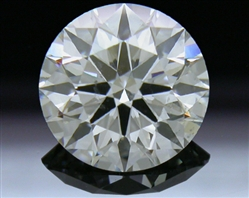 1.304 ct I SI1 A CUT ABOVE® Hearts and Arrows Super Ideal Round Cut Loose Diamond