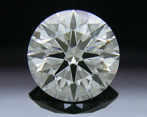 1.496 ct H SI1 A CUT ABOVE® Hearts and Arrows Super Ideal Round Cut Loose Diamond