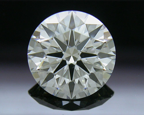 1.508 ct J SI1 A CUT ABOVE® Hearts and Arrows Super Ideal Round Cut Loose Diamond
