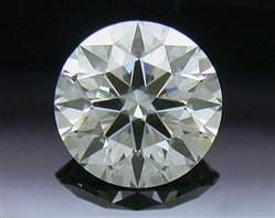0.513 ct I SI1 A CUT ABOVE® Hearts and Arrows Super Ideal Round Cut Loose Diamond