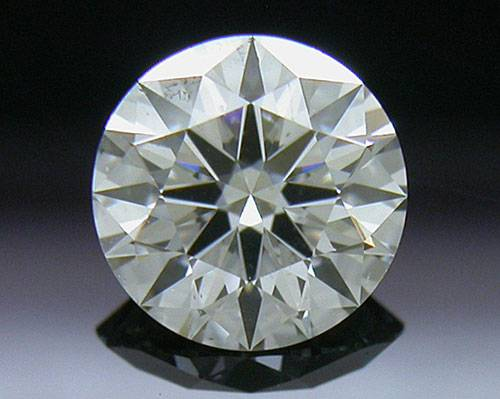 0.541 ct G SI1 A CUT ABOVE® Hearts and Arrows Super Ideal Round Cut Loose Diamond