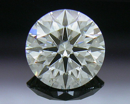 0.551 ct H VS1 A CUT ABOVE® Hearts and Arrows Super Ideal Round Cut Loose Diamond
