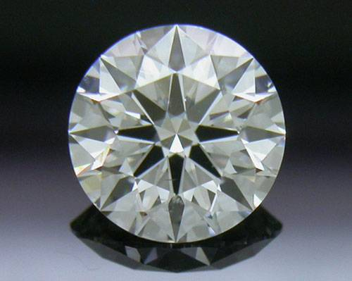 0.543 ct G SI1 A CUT ABOVE® Hearts and Arrows Super Ideal Round Cut Loose Diamond