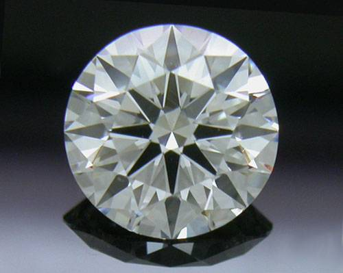 0.761 ct F VS1 A CUT ABOVE® Hearts and Arrows Super Ideal Round Cut Loose Diamond