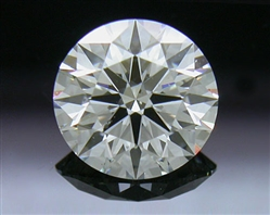 0.723 ct H SI1 A CUT ABOVE® Hearts and Arrows Super Ideal Round Cut Loose Diamond