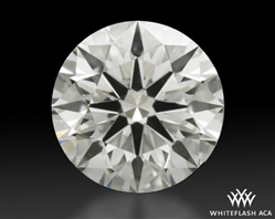 0.77 ct H VS1 A CUT ABOVE® Hearts and Arrows Super Ideal Round Cut Loose Diamond