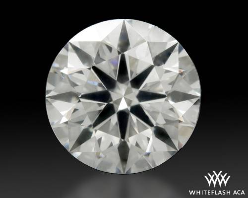 0.776 ct G SI1 A CUT ABOVE® Hearts and Arrows Super Ideal Round Cut Loose Diamond