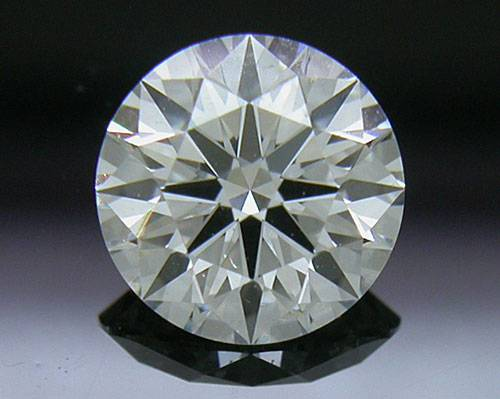 0.714 ct H SI1 A CUT ABOVE® Hearts and Arrows Super Ideal Round Cut Loose Diamond