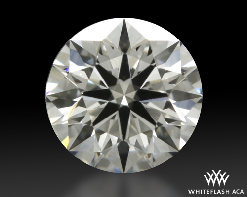 0.607 ct F VVS1 A CUT ABOVE® Hearts and Arrows Super Ideal Round Cut Loose Diamond