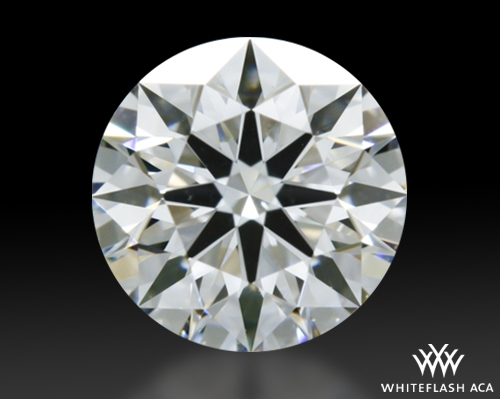 0.524 ct F VVS2 A CUT ABOVE® Hearts and Arrows Super Ideal Round Cut Loose Diamond