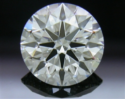 1.207 ct G VS2 A CUT ABOVE® Hearts and Arrows Super Ideal Round Cut Loose Diamond
