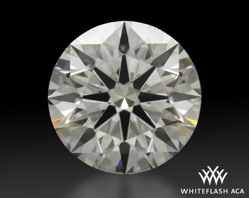 1.461 ct G VS1 A CUT ABOVE® Hearts and Arrows Super Ideal Round Cut Loose Diamond