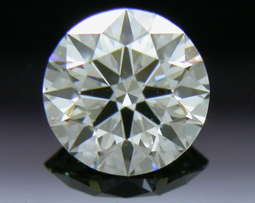0.411 ct J VS2 A CUT ABOVE® Hearts and Arrows Super Ideal Round Cut Loose Diamond