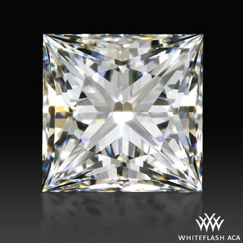0.832 ct G VVS2 A CUT ABOVE® Princess Super Ideal Cut Diamond