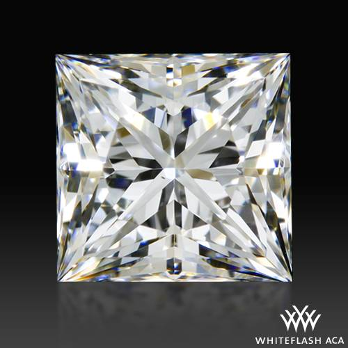 0.854 ct F VS2 A CUT ABOVE® Princess Super Ideal Cut Diamond