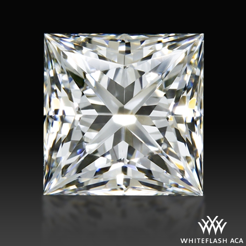 0.851 ct H VVS2 A CUT ABOVE® Princess Super Ideal Cut Diamond