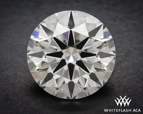1.156 ct I SI1 A CUT ABOVE® Hearts and Arrows Super Ideal Round Cut Loose Diamond