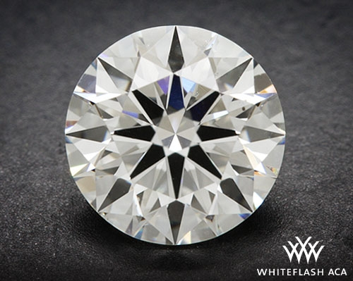 1.044 ct G SI1 A CUT ABOVE® Hearts and Arrows Super Ideal Round Cut Loose Diamond