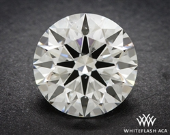 1.041 ct H SI1 A CUT ABOVE® Hearts and Arrows Super Ideal Round Cut Loose Diamond