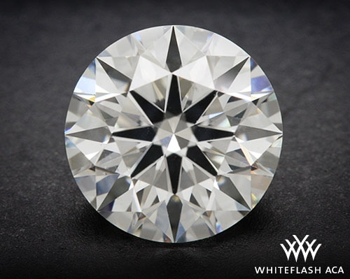 1.181 ct H VS2 A CUT ABOVE® Hearts and Arrows Super Ideal Round Cut Loose Diamond