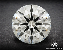 1.003 ct H VS2 A CUT ABOVE® Hearts and Arrows Super Ideal Round Cut Loose Diamond