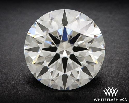1.06 ct G SI1 A CUT ABOVE® Hearts and Arrows Super Ideal Round Cut Loose Diamond