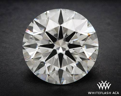 1.161 ct G SI1 A CUT ABOVE® Hearts and Arrows Super Ideal Round Cut Loose Diamond