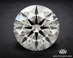 1.163 ct G SI1 A CUT ABOVE® Hearts and Arrows Super Ideal Round Cut Loose Diamond