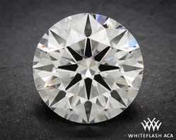1.068 ct F SI1 A CUT ABOVE® Hearts and Arrows Super Ideal Round Cut Loose Diamond