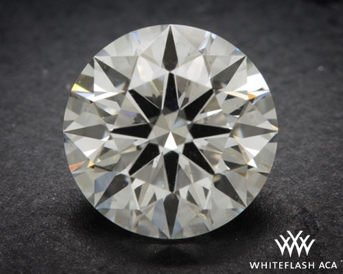 1.021 ct H SI2 A CUT ABOVE® Hearts and Arrows Super Ideal Round Cut Loose Diamond