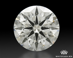 1.055 ct I SI1 A CUT ABOVE® Hearts and Arrows Super Ideal Round Cut Loose Diamond