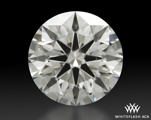 1.17 ct I SI1 A CUT ABOVE® Hearts and Arrows Super Ideal Round Cut Loose Diamond