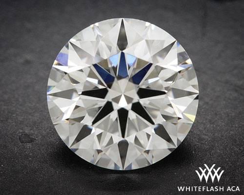 1.102 ct E VS1 A CUT ABOVE® Hearts and Arrows Super Ideal Round Cut Loose Diamond
