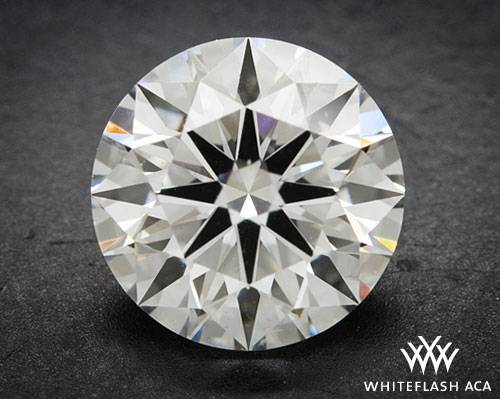 1.072 ct F SI1 A CUT ABOVE® Hearts and Arrows Super Ideal Round Cut Loose Diamond