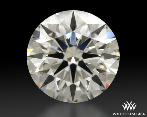 1.183 ct J VS2 A CUT ABOVE® Hearts and Arrows Super Ideal Round Cut Loose Diamond